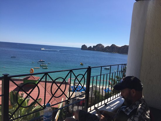 Casa Dorada Los Cabos Resort & Spa: View from balcony Rm 604