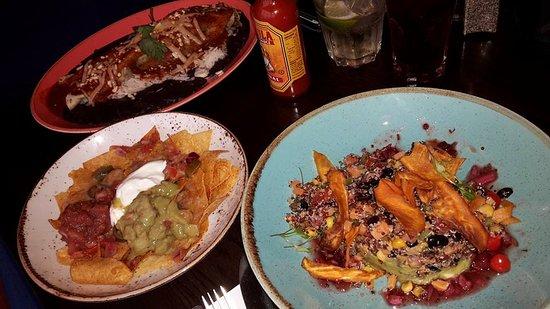 Las Iguanas: Whole set. Very tasty