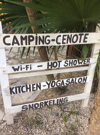 Cenote Encantado: I real enjoyed my night stay here. The people we very kind and easygoing. The prices we very rea