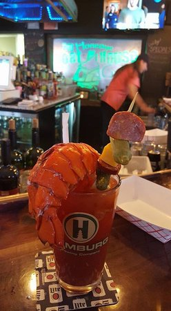 Honeoye, Estado de Nueva York: If you want a Bloody Mary that cures all check this place out! Amazing