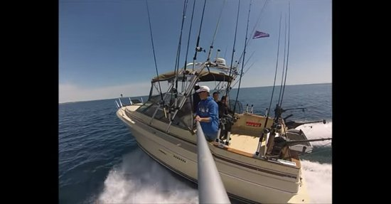 Kewaunee, WI: Slam Dunk Sportfishing Charters on Lake Michigan
