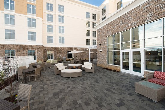 outdoor seating fire pit picture of homewood suites by hilton rh tripadvisor co nz