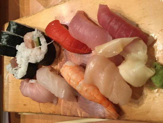 Sachi Sushi: Fabulous seafood - get a seat on the sushi bar to watch the master in action!