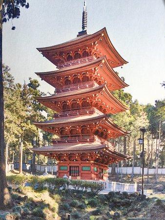 五重の塔完成する。! - 富士宮...