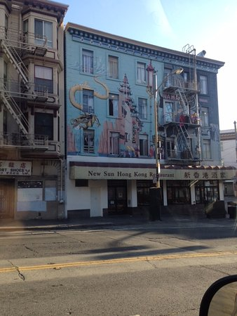 San Rafael, CA: New Sun Hong Kong is just one of many well known authentic Cantonese restaurants in Chinatown.