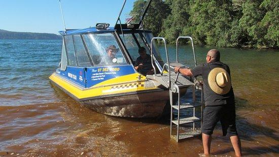 Totally Tarawera: Drop off at Humphries Bay