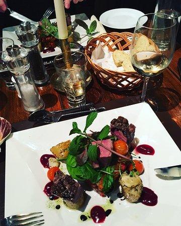 Skutebrygga Restaurant: Super lækker mad, meget store portioner, høj kvalitet. Bestemt et besøg værd!