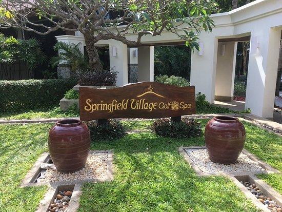 Springfield Village Golf & Spa: Eingangsbereich