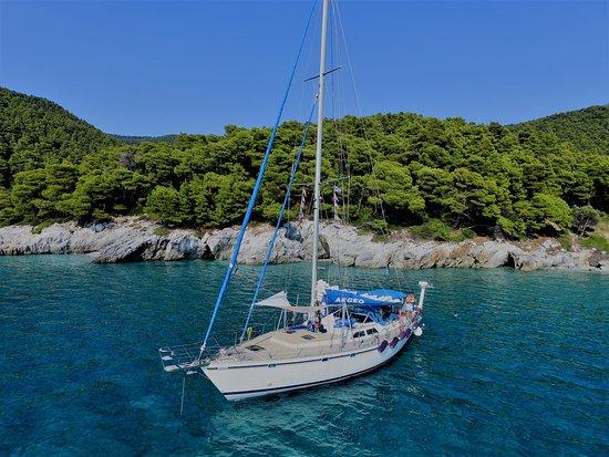 Aegeo Sailing Yacht @ Mamma Mia bay Skopelos