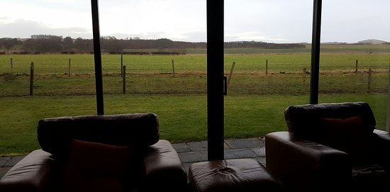 Kilconquhar, UK: living room with a view