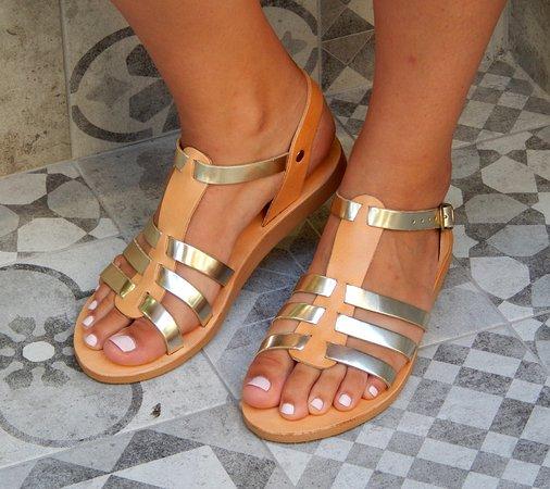 e03c6ed7ca55 Handmade leather sandal KASSANDRA - Picture of Romba s