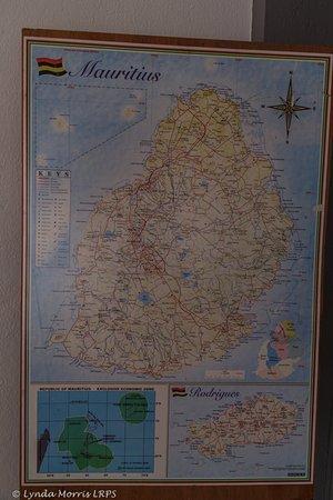 Map for arranging trips Picture of La Tonnelle Trou aux Biches