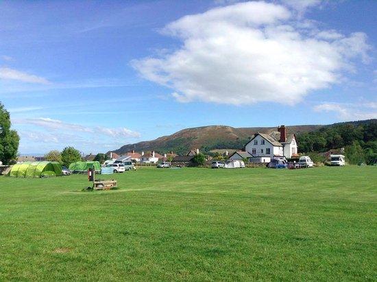 Sparkhayes Farm Camping Site Bewertungen Fotos Porlock England Tripadvisor