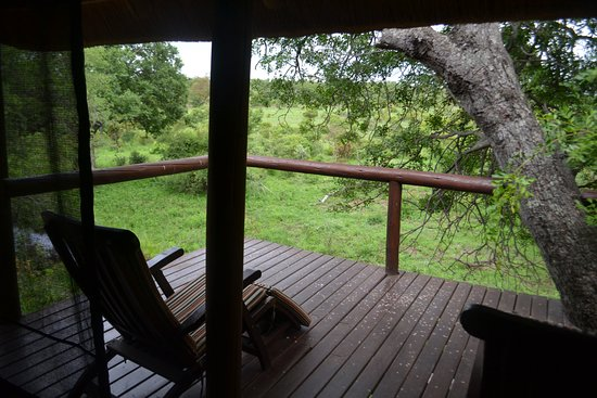 Camp Shonga: View from the balcony