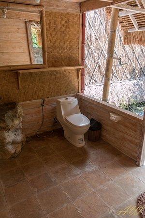 Temukus, Indonesia: Badezimmer