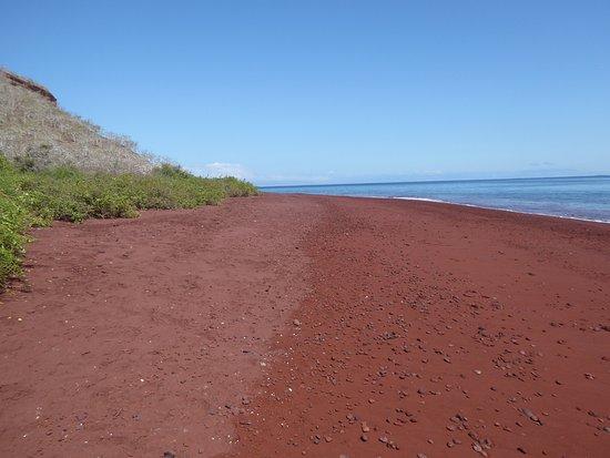 Rabida, เอกวาดอร์: Red sand