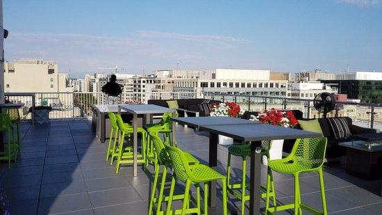 Terraza En La Azotea Picture Of Hyatt Place Washington Dc
