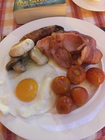 Frongoch, UK: Fabulous breakfast