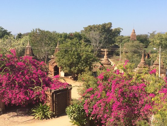 Thurizza Hotel Bagan : Rooftop view