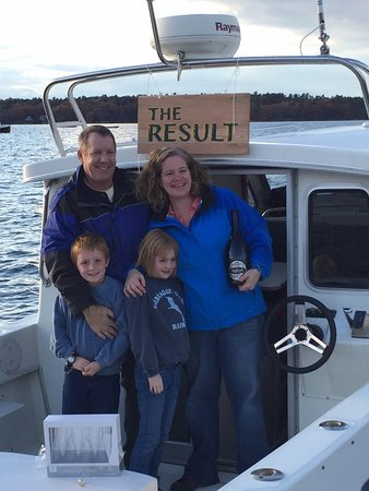 Chebeague Island, ME: The Wentworth family! Owners of the Chebeague Water Taxi, LLC.