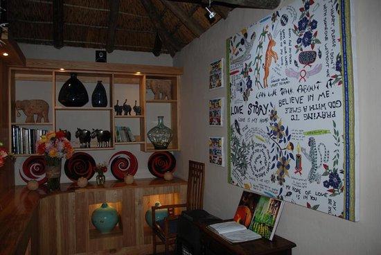Addo, แอฟริกาใต้: neu gestalteter Teil im Speisesaal