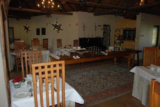Addo, Νότια Αφρική: Speisesaal