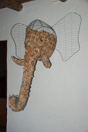 Addo, Νότια Αφρική: origineller Korkensammler