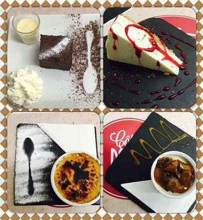Côté Docks : suggestion de desserts à l'ardoise