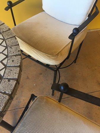 Joya Spa at Omni Scottsdale Resort: another random bistro chair