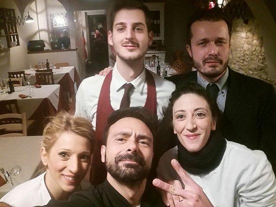 Montespertoli, Italien: Lo Staff