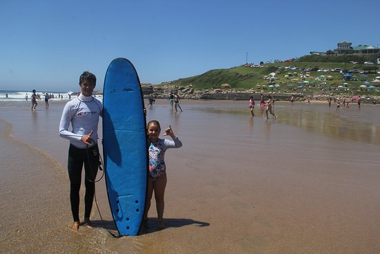 Southbroom, África do Sul: Kids can start surfing as early as 4yrs