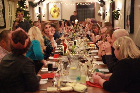 Ditcheat, UK: Banquet