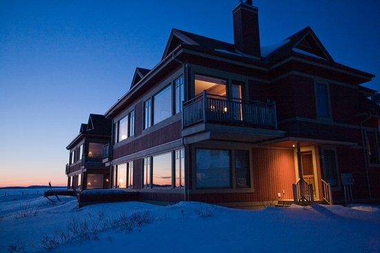Ferme-Neuve, Canada: Condo en hiver