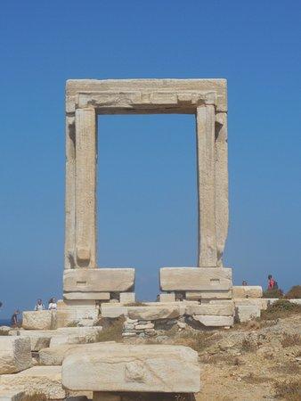 Portara:  Doorway of Temple of Delian Apollo, Naxos