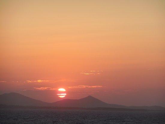 Portara: Sunset at Naxos