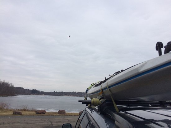 "New Britain, CT: January 22, 2017  Tried & failed to sneak in a ""Peak Winter"" paddle."