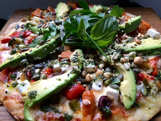 Scarborough, South Africa: Meditteranean Veggie Pizza