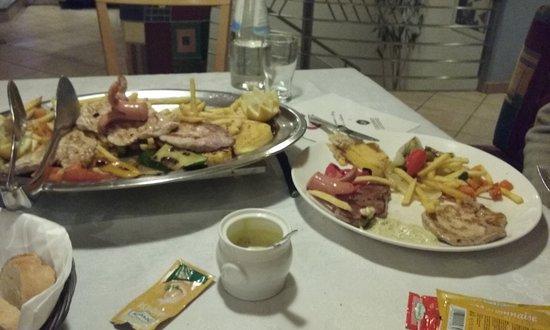 Restaurant Pizzeria Christl: grigliata mista