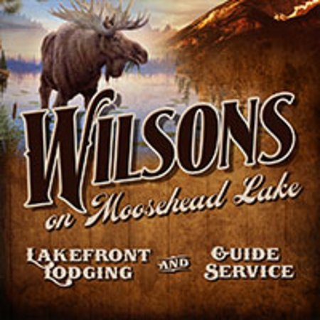Wilsons on Moosehead Lake: Look for the sign at the end of our driveway!