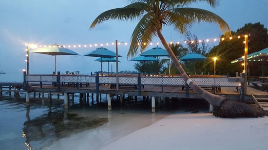 Evening on the Deck at The Lobster Trap, Anegada BVI
