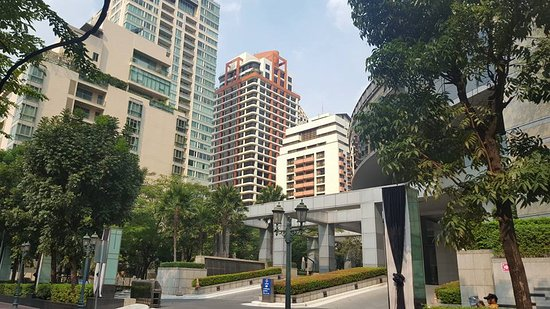 Bandara Suites Silom, Bangkok: Außenansicht