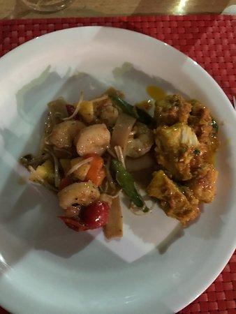 La Bonne Marmite : crevettes sauce chinoise