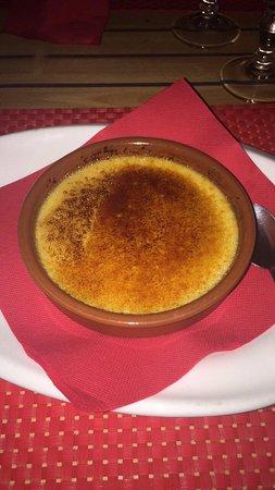 La Bonne Marmite : crème brûlé au dessert