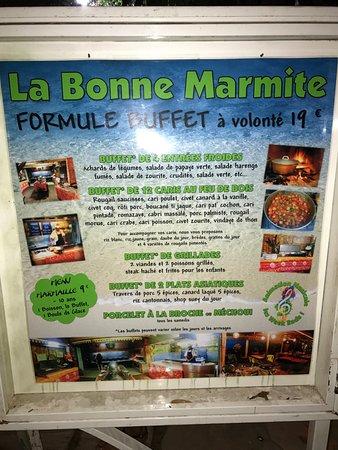 La Bonne Marmite : Buffet à volonté pour 19 euro