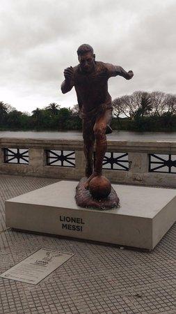 Monumento a Lionel Messi