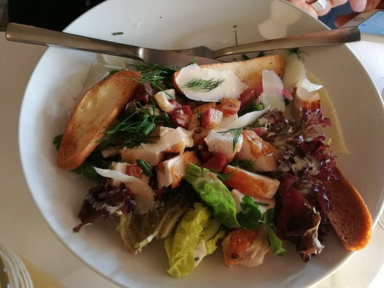 Cafe Morville: Cæsars salad