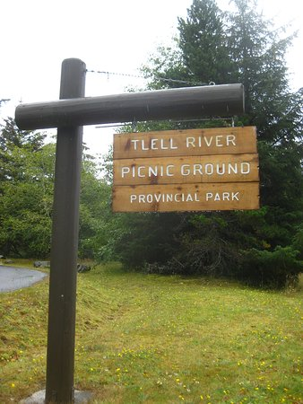 Graham Island, Canada: Start here at the picnic area.  Lots of parking.