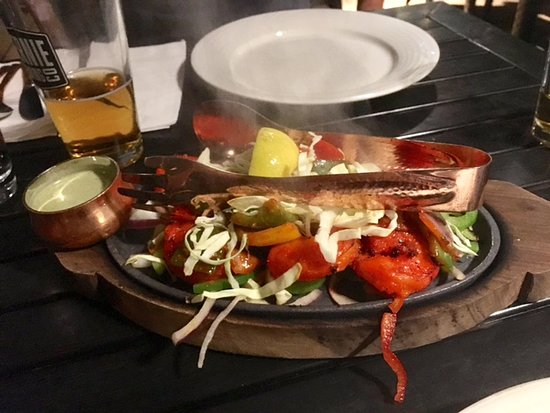 Tasty Indian Bistro: Tandoori Prawns
