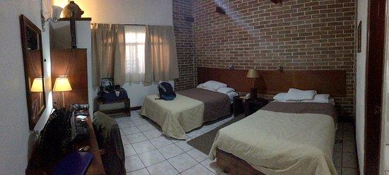 Dai Nonni Hotel: very spacious & comfortable rooms!