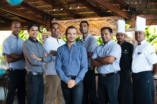 Le Chateau de Feuilles: Restaurant : une équipe pour vous choyer